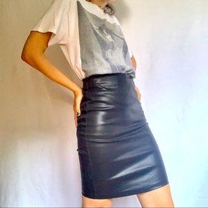 Vegan Leather Skirt 🔥